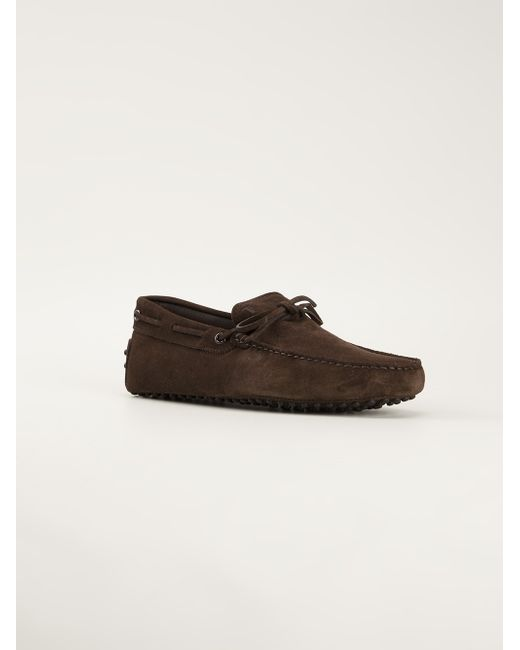 Tod's | Brown Buckled Loafers for Men | Lyst
