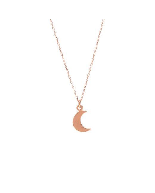 Bing Bang | Metallic Little Moon Necklace | Lyst