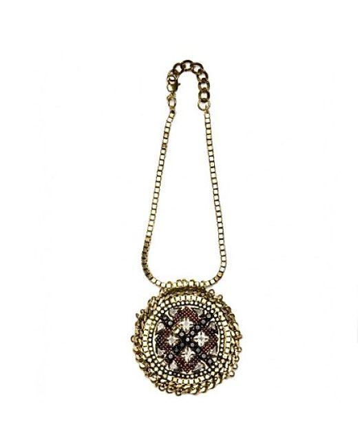 Nicole Romano   Metallic Cristo Necklace   Lyst