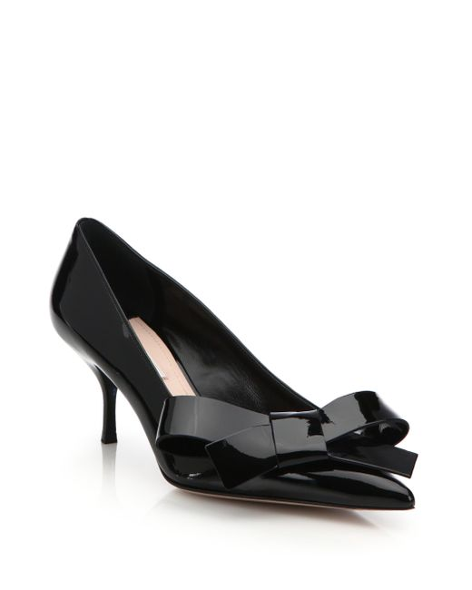 Black Patent Leather Shoes Mens Bow