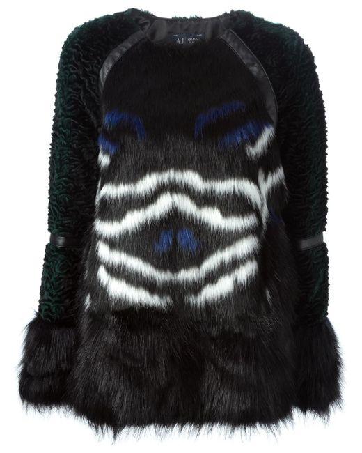 Armani Jeans | Black Giorgio Armani Women's Coat | Lyst