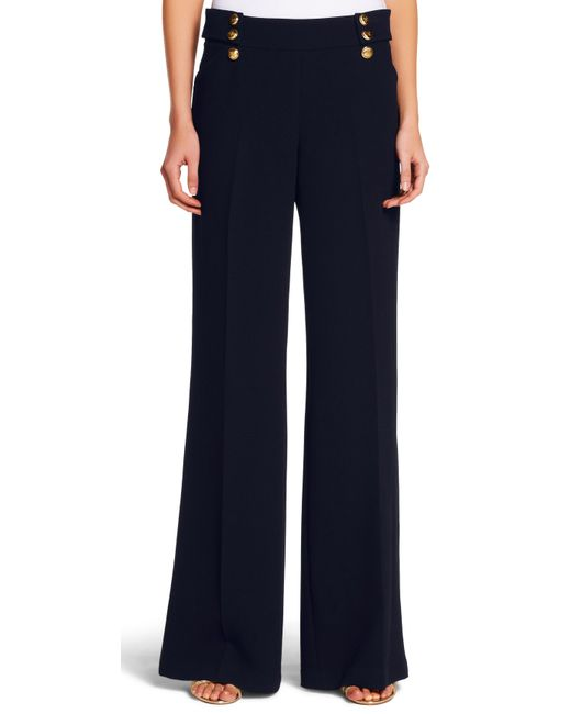 BYBLOS Black High Waisted Pants Sailor Style size 44 US 8 Italy. $ Buy It Now. Presenting a classic pair of high waisted pants featuring gold buttons on front panel in a sailor style with a zipper in back. Size: 40, approx. Excellent Condition. inseam: 29