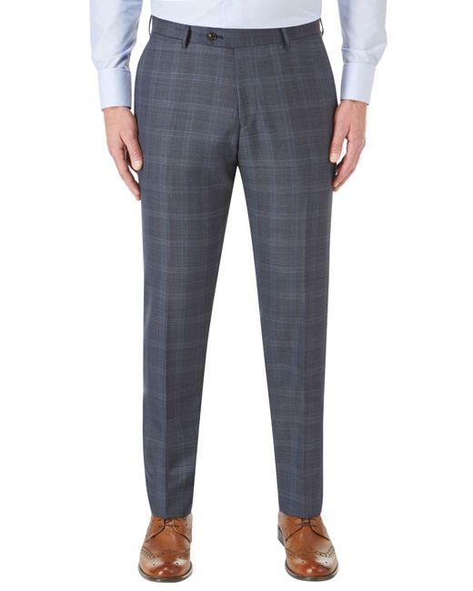 Skopes | Blue Mountjoy Tailored Suit Trouser for Men | Lyst