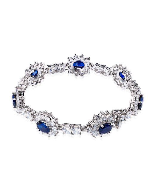 Carat* | Blue Floral Sapphire Bracelet | Lyst