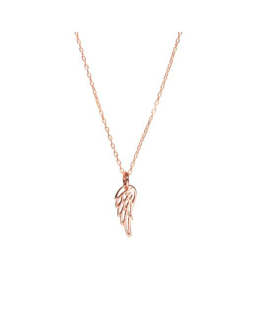 Bing Bang | Pink Wing Necklace | Lyst