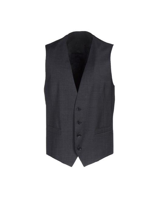 Dolce & Gabbana | Gray Vest for Men | Lyst