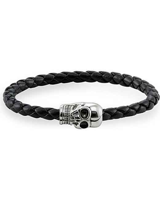 Thomas Sabo | Metallic Silver Skull Unity Bracelet | Lyst