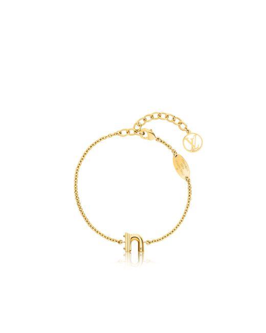 Louis Vuitton | Metallic Lv & Me Bracelet, Letter N | Lyst