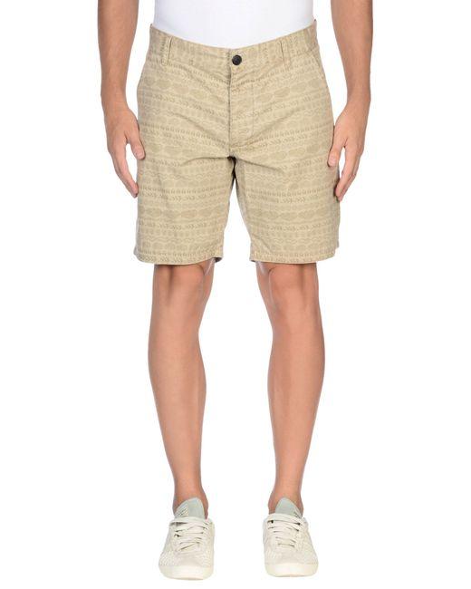 originals by jack jones bermuda shorts in beige for men. Black Bedroom Furniture Sets. Home Design Ideas