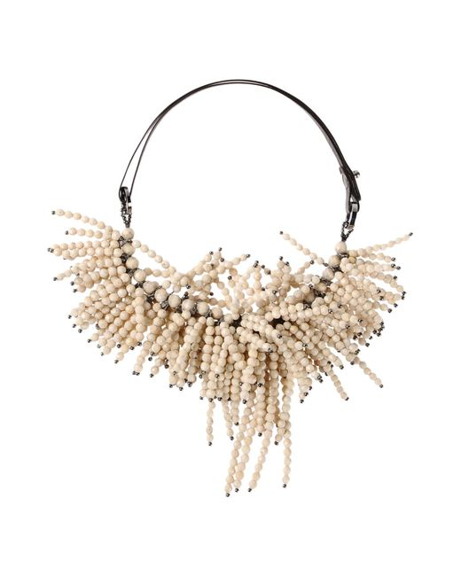 Brunello Cucinelli | White Necklace | Lyst