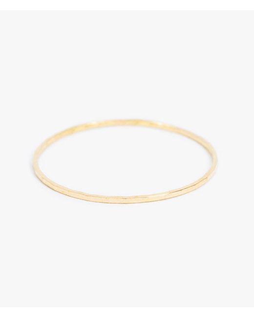 Catbird | Metallic Threadbare Stacking Rings | Lyst