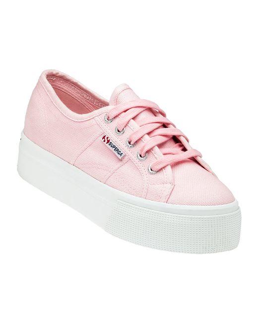 Superga 2790 Pink Platform Trainers In Pink Lyst