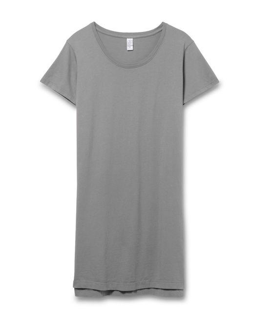 Alternative Apparel | Gray Legacy Garment Dyed T-shirt Dress | Lyst