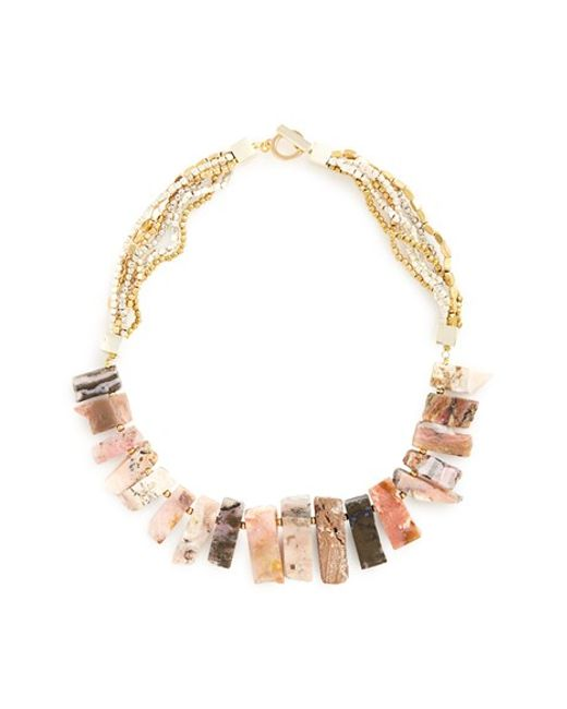 Panacea | Multicolor Ombre Station Statement Necklace | Lyst