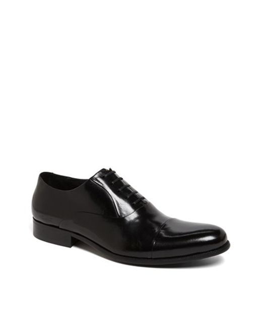 Kenneth Cole | Black 'chief Council' Cap Toe Oxford for Men | Lyst