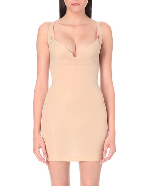 Spanx | Natural Shape My Day Open-bust Full Slip | Lyst