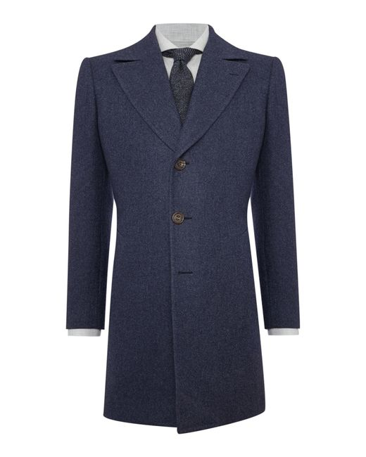 Chester Barrie | Blue Change Coat for Men | Lyst