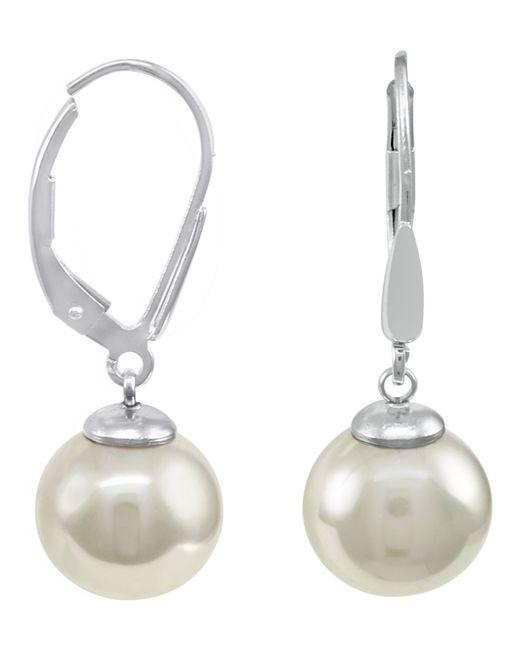 Majorica | Metallic Organic Man-made Pearl | Lyst