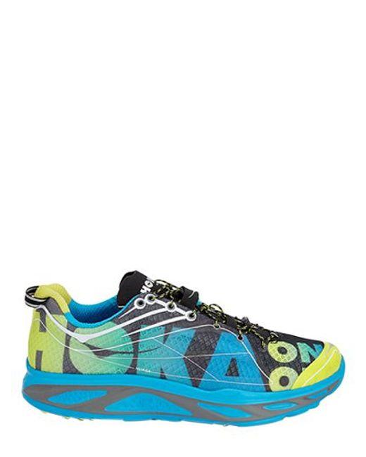 Hoka one one Huaka Lightweight Running Sneakers in Blue ...