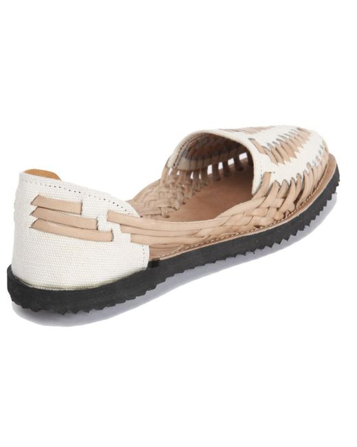 Perfect Women39s Brown Studded Leather Huarache Sandal