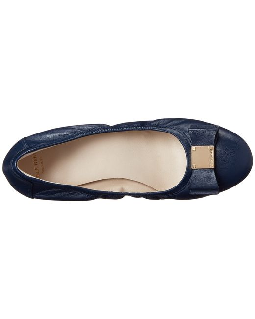 Cole Haan | Blue Tali Bow Ballet | Lyst