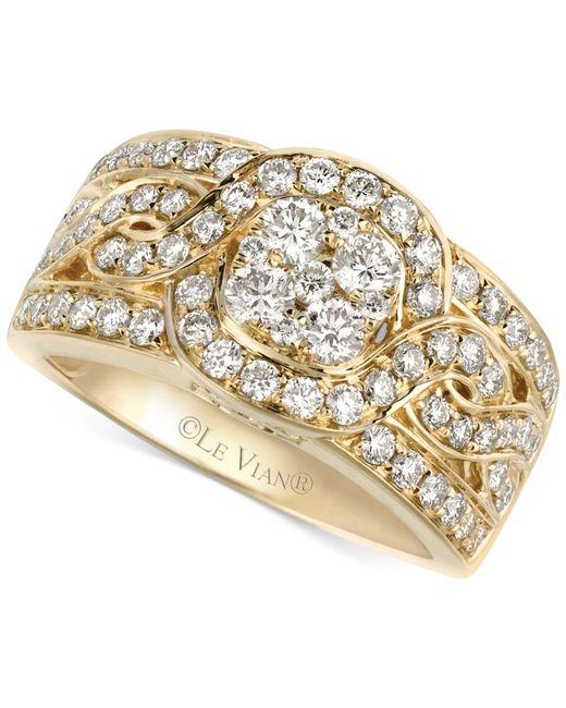 Le Vian | Metallic Woven Diamond Ring (1-1/4 Ct. T.w.) In 14k Gold | Lyst