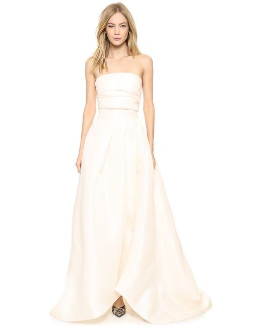 Monique Lhuillier   Pink Capri Ball Gown Skirt   Lyst