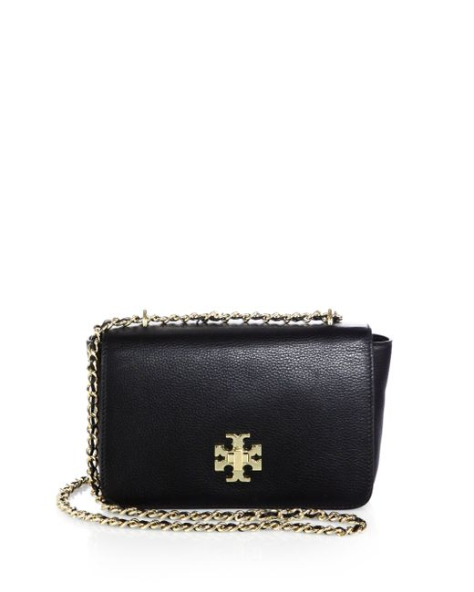 Tory Burch | Black Fleming Convertible Shoulder Bag | Lyst