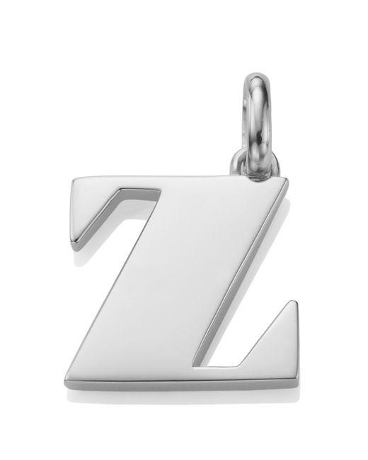 Monica Vinader | Metallic Alphabet Pendant Z | Lyst