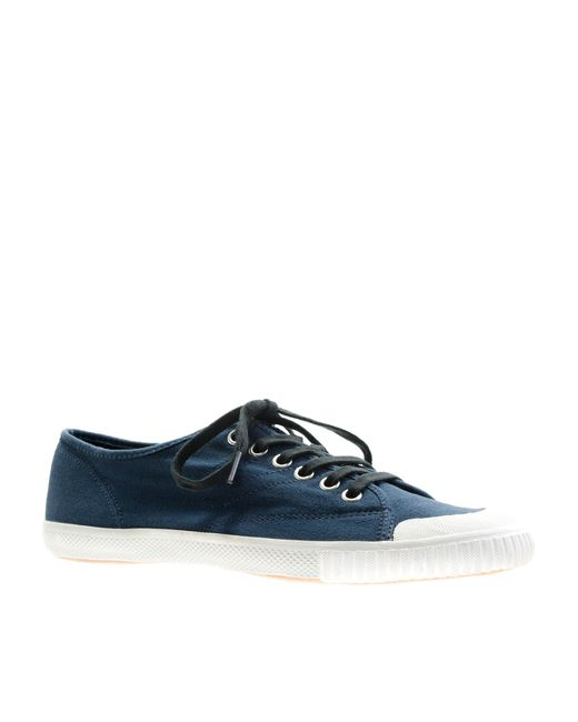 J.Crew | Blue Women's Tretorn Canvas T56 Sneakers | Lyst