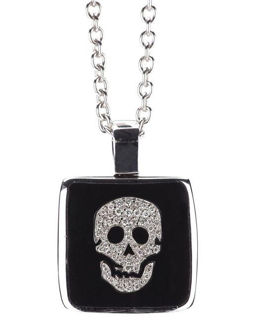 Gavello | Metallic Skull Pendant Necklace | Lyst