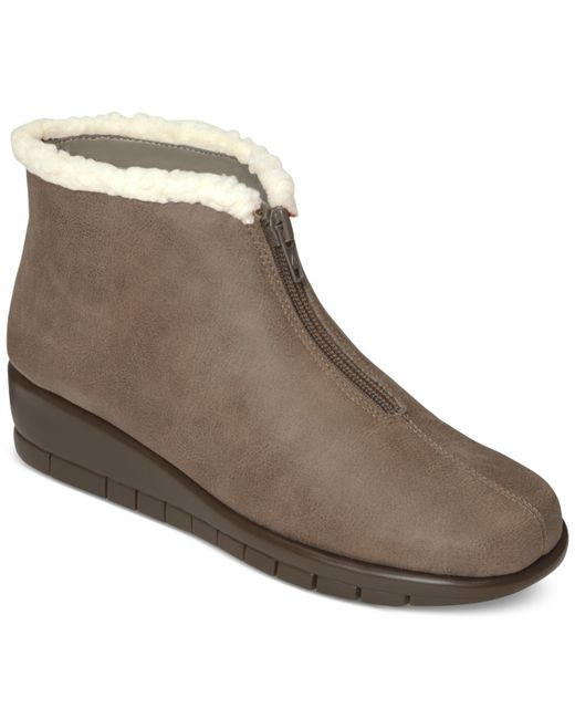 Aerosoles | Gray Nonchalant Cold Weather Booties | Lyst