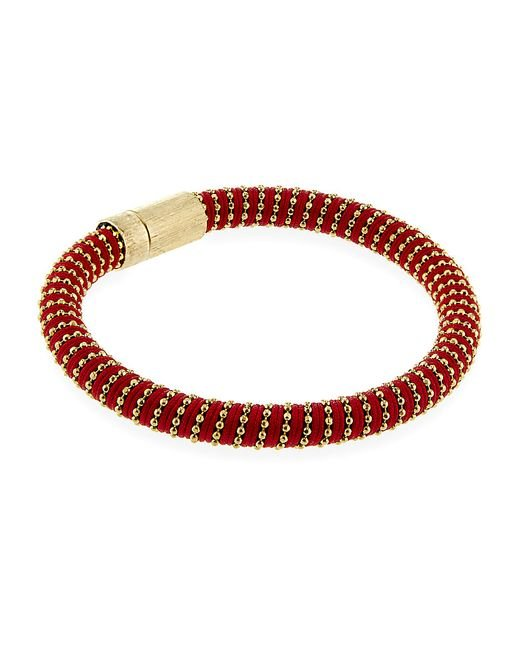 Carolina Bucci | Red Twister Rose Magneticclasp Bracelet | Lyst