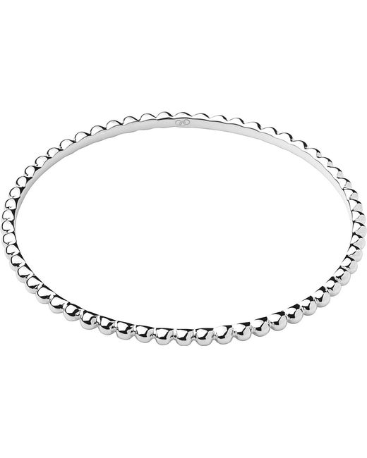 Links of London | Metallic Effervescence Essentials Sterling Silver Bangle | Lyst