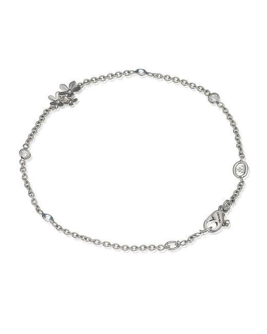 Theo Fennell | White Flower Tryst Bracelet | Lyst