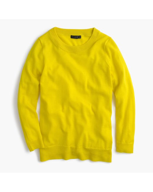J.Crew | Yellow Tippi Sweater | Lyst