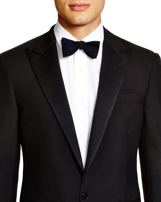Pink Pony | Black Formal Basic Peak Lapel Regular Fit Tuxedo for Men | Lyst