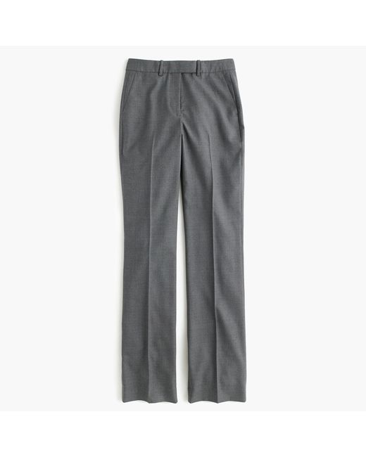 J.Crew | Gray Tall Preston Pant In Super 120s Wool | Lyst