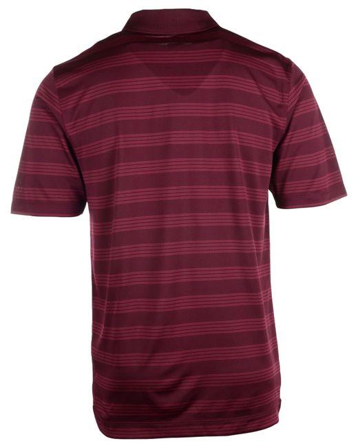 Nike men 39 s virginia tech hokies dri fit preseason polo for Maroon dri fit polo shirt