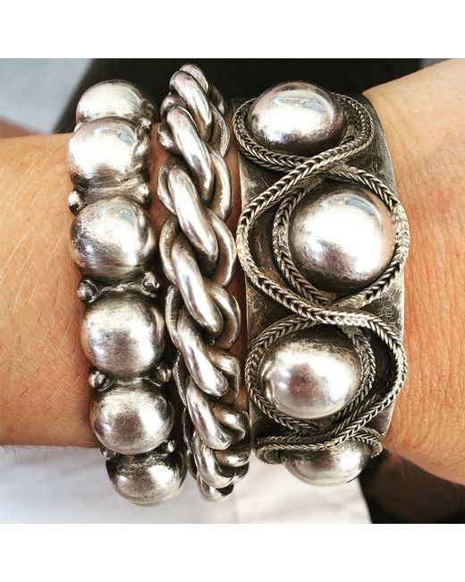 DANNIJO | Metallic Ball & Chain | Lyst