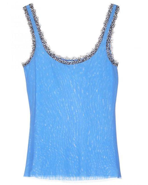Cosabella | Blue Celine Camisole | Lyst