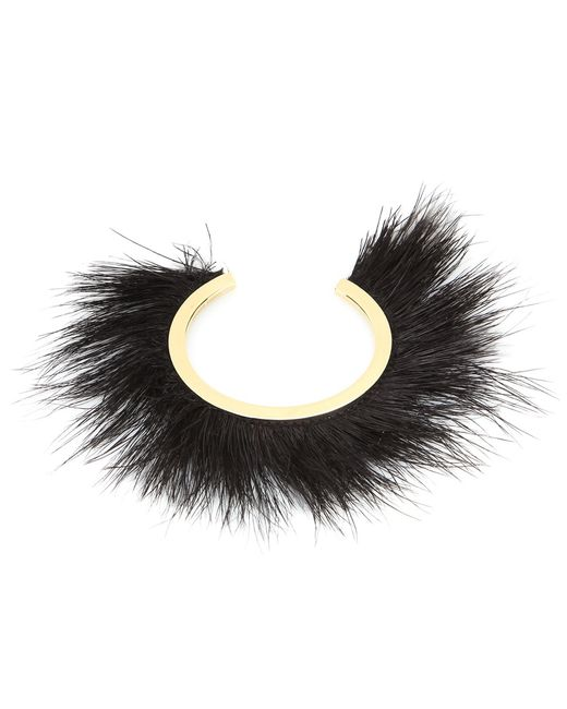 Isabel Marant | Black Silver-tone Feather Cuff | Lyst
