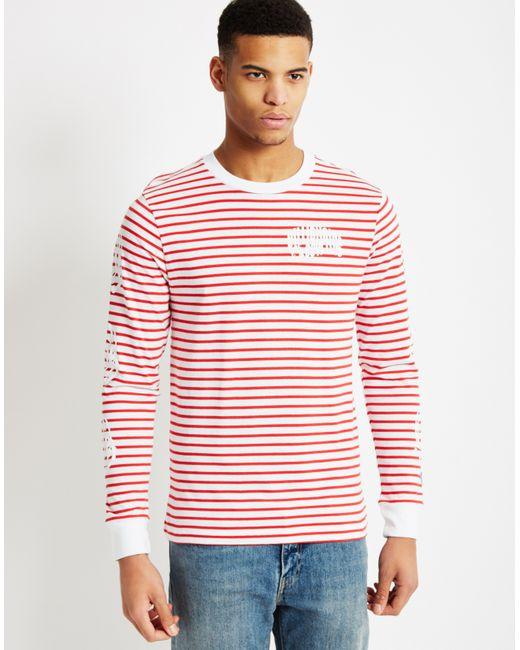 Billionaire Boys Club Ice Cream Striped Long Sleeve T