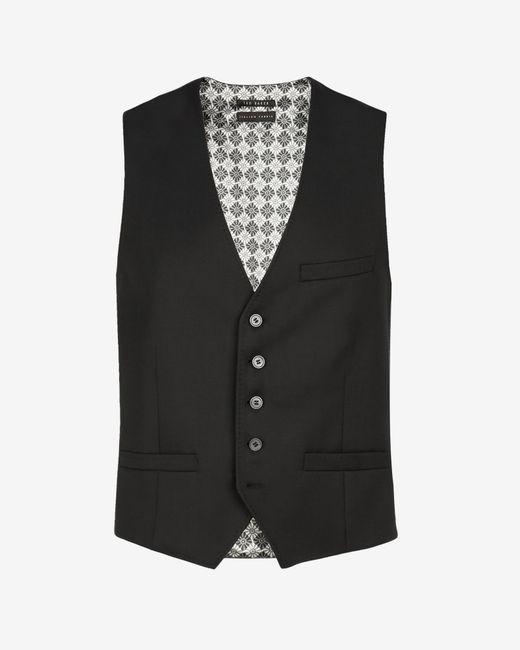 Ted Baker   Black Wool Waistcoat for Men   Lyst
