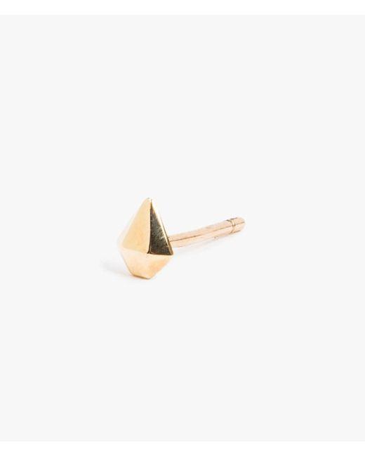 Jennie Kwon | Multicolor Half Diamond Stud - Single | Lyst