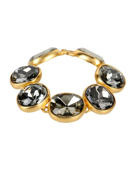 Kenneth Jay Lane | Metallic Bracelet | Lyst