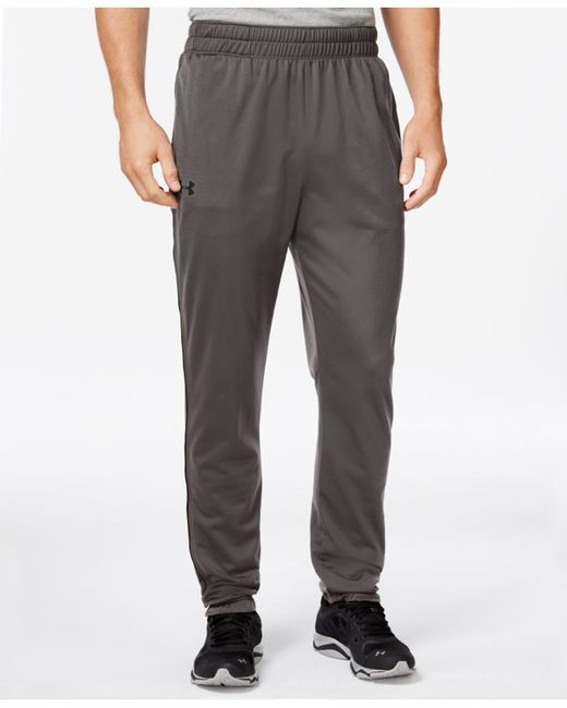 Under Armour | Gray Men's Tapered Tricot Joggers for Men | Lyst