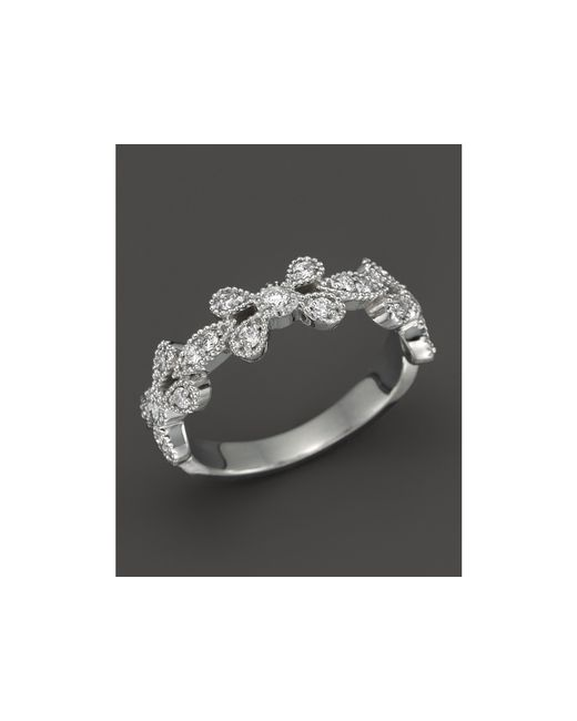 KC Designs | Diamond Stackable Band In 14k White Gold, .30 Ct. T.w. | Lyst