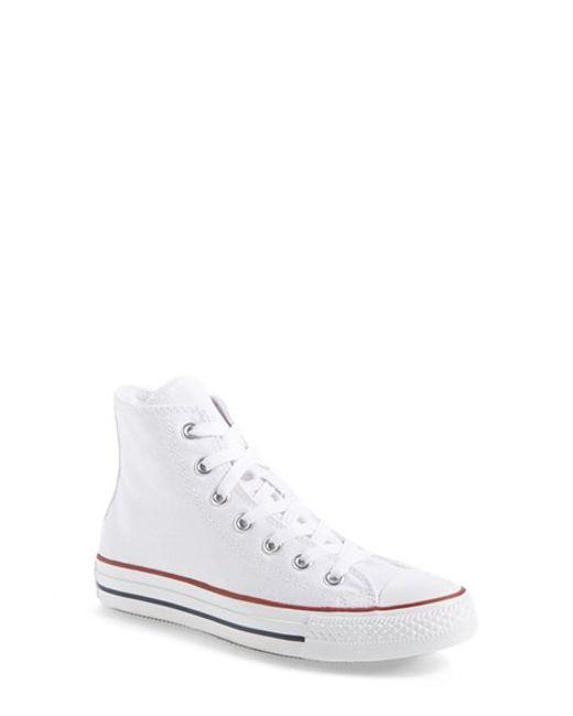 Converse | White Chuck Taylor All Star High | Lyst