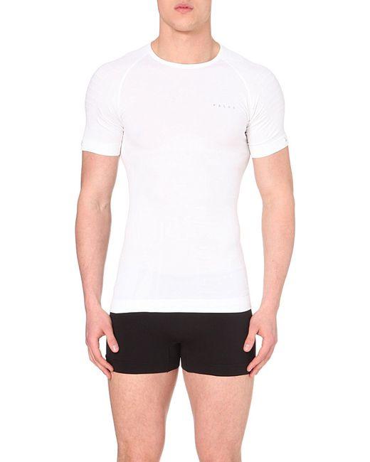 Falke | White Short-sleeved T-shirt for Men | Lyst